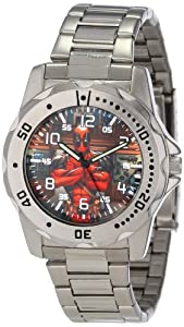 Marvel Comics Men's MA0710-D22-Bracelet Marvel 'Deadpool' Defender Watch