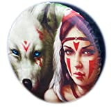 WHEEL COVER WHEELCOVER SPARE TYRE 4X4 WOLF GIRL EROTIC ART
