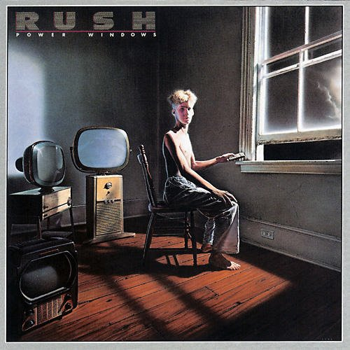 Original album cover of Power Windows by Rush