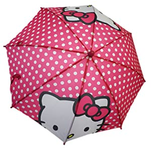 Sanrio Hello Kitty Poka Dot Pink Umbrella Polk-a-dots
