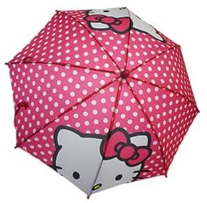 Sanrio Hello Kitty Poka Dot Pink Umbrella Polk-a-dots
