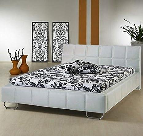 Letti e Mobili - Letto di disegno Sofia in colore bianco - 160 x190cm