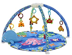 padded new musical baby playmat under the sea new play mat play gym baby. Black Bedroom Furniture Sets. Home Design Ideas