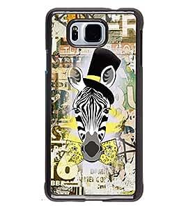 Fuson 2D Printed Designer back case cover for Samsung Galaxy Alpha - D4204