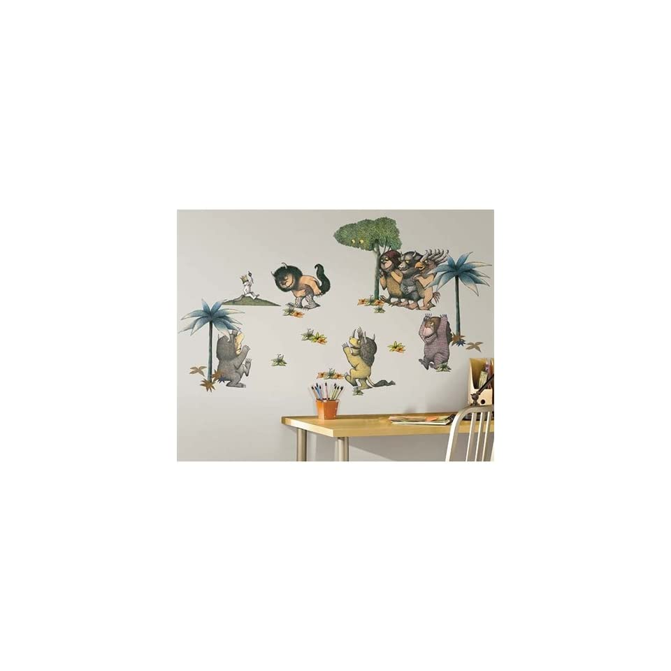Where the Wild Things Are Peel & Stick Wall Decals