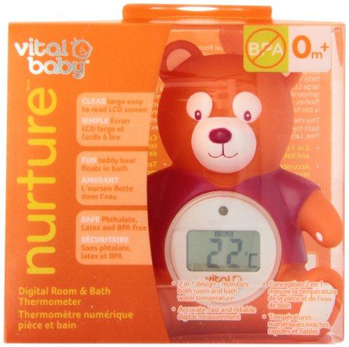 Vital Baby Nurture Digital Bath and Room Thermometer
