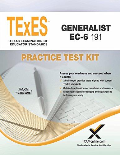 TExES Generalist EC-6 191 Practice Test Kit