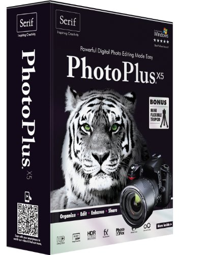 Serif PhotoPlus X5 - English /French (bilingual software)