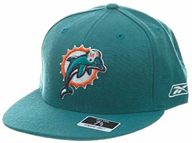 Miami Dolphins Reebok Fitted Blue Orange White 99 by Reebok