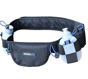 Hydration Running Belt By Camden Gear - Runners Belt and Waist Pack with BPA Free... by Camden Gear