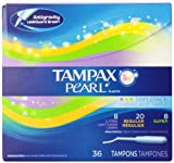 Tampax Tampax Pearl Tampons Multipax Unscented, Unscented 36 each