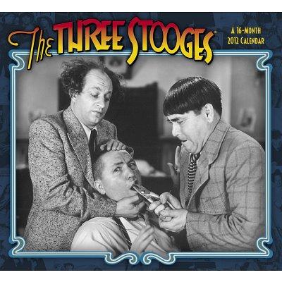 The Three Stooges 2012 calendar