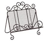 Creative Co-op Casual Country Decorative Metal Cookbook Holder