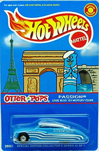 Hot Wheels 1:64 Scale Louie Bloo'49 Mercury Coupe Otter Pops Special Edition Collection Ym97 - 1