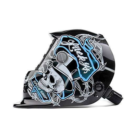 Flexzion-Auto-Darkening-Welding-Helmet-Solar-Powered-WeldGrind-Selectable-Mask-Tool-Monster-on-Black-Face-Protector-for-Arc-Tig-Mig-Grinding-Plasma-Cutting-with-Adjustable-Shade-Range-9-13