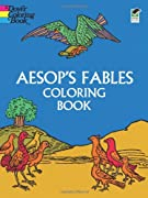 Aesop's Fables Coloring Book by Aesop cover image