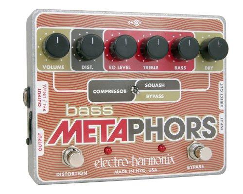Electro Harmonix Bass Metaphors Compression/Distortion Pedal