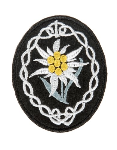 Generic Ww2 German Wh Heer Mountain Troops Edelweiss Sleeve Insignia Patch