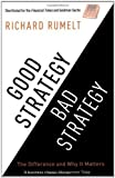 img - for By Richard Rumelt Good Strategy/Bad Strategy book / textbook / text book