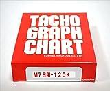 小芝記録紙 ( KOSHIBA ) チャート紙 【7日用】 120Km/h 10組入リ KM-7-120