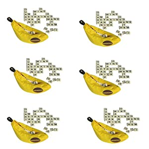 Bananagrams 6 Games! S