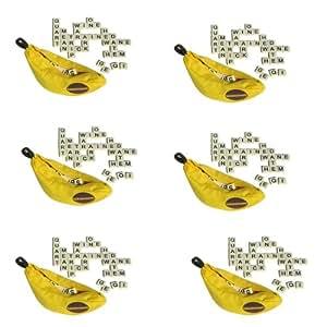 Bananagrams 6 Games! S