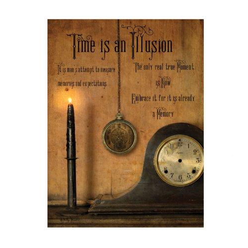 Ohio Wholesale Radiance Lighted Time Is An Illusion Wall Art