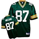 Reebok Jordy Nelson Green Bay Packers Green Authentic Jersey