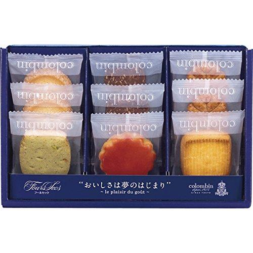 コロンバン 洋菓子 セット 詰め合わせ フールセック(9枚入)