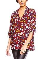 Glamour Paris Blusa Kelly (Rojo Oscuro)