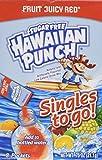Hawaiian Punch, Sugar Free, Fruit Juicy Red, Singles to Go 8 Packets Per Box