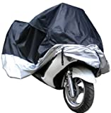 xFeeler Motorcycle Bike Moped Scooter Cover Waterproof Rain UV Dust Prevention Dustproof Covering (XL)