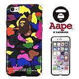 【 A BATHING APE 】 iPhone7 アイフォン7 対応ケース ア ベイシング エイプ ape011 [並行輸入品]