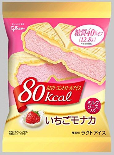 グリコ カロリーコントロールアイス いちごモナカ×36個