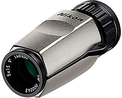 Nikon 7394 5x15 High Grade Monocular by Nikon