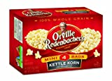 Orville Redenbacher's Gourmet Microwavable Popcorn, Kettle Korn Mini Bag, 4-Count Boxes (Pack of 12)
