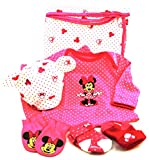 Disney Minnie Mouse Welcome Home Baby Set,100% Cotton,9 Pc. (3-6m, Pink)