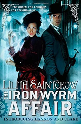 book cover of The Iron Wyrm Affair
