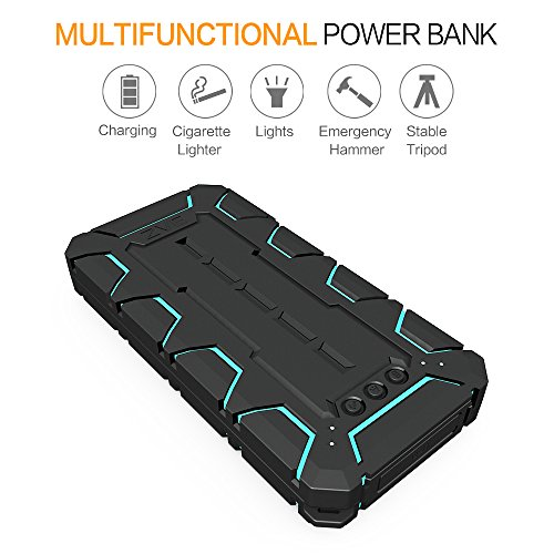 Zvedeng 10000mAh Waterproof Power Bank