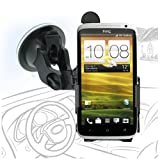 Celicious Fit-In Dedicated Car Suction Mount Holder for HTC One X [Can be Mounted in any Angle or Orientation] [Lifetime Warranty]