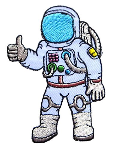 astronaut-thumps-up-hand-symbol-clothes-bags-jackets-jeans-embroidered-iron-on-patch-free-shipping