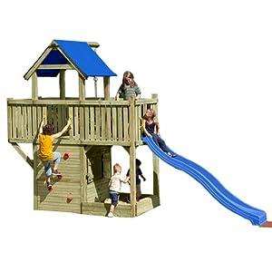 gartenpirat spielturm mit rutsche kletterturm galeone mit spielhaus sandkasten und rutsche. Black Bedroom Furniture Sets. Home Design Ideas