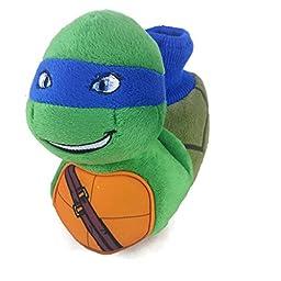 Teenage Mutant Ninja Turtles Toddler Boy\'s Sock Top Slippers (9-10)