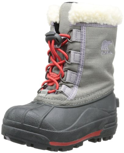 Sorel Boys Youth Cumberland II Snow Boots Gray Grau (Stratus 008) Size: 4 (37 EU)