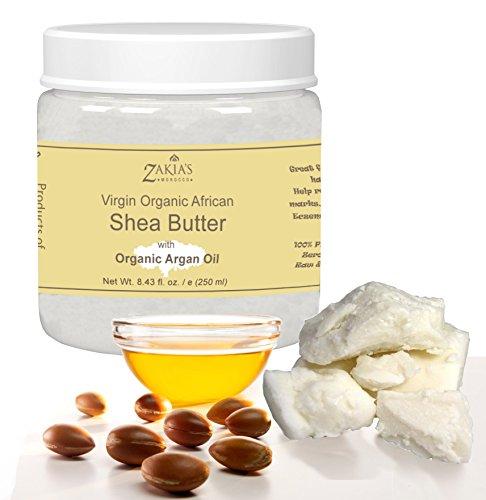 Shea Butter with Organic Argan Oil -Net Wt. 8.43 fl. oz.