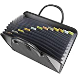 C-Line Expanding File with Handles, Letter - Black (48211)