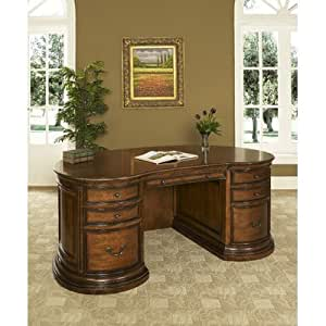 Winsome Executive Desk Complete With Keyboard Pullout Kitchen Dining