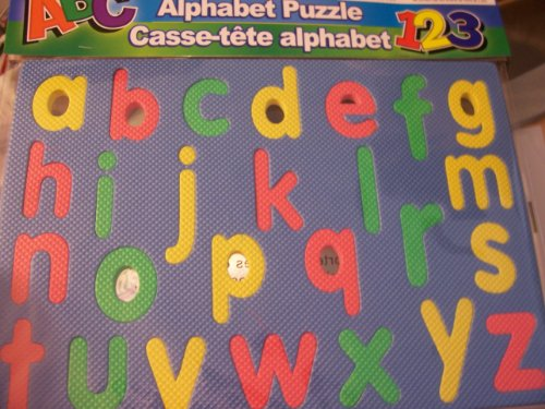 Greenbrier Foam Educational Puzzle ~ Alphabet (Lowercase) - 1