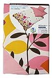 プリント 掛け布団カバー 花柄 シングルロングサイズ 346631-L062