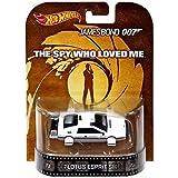 "Lotus Esprit S1 James Bond 007 ""The Spy Who Loved Me"" Hot Wheels 2014 Retro Series 1/64 Die Cast Veh"